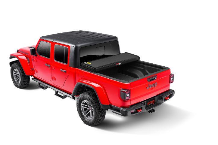 NOVISauto Laderaumabdeckung Trifold Jeep Gladiator 2020+ offen fahrbar