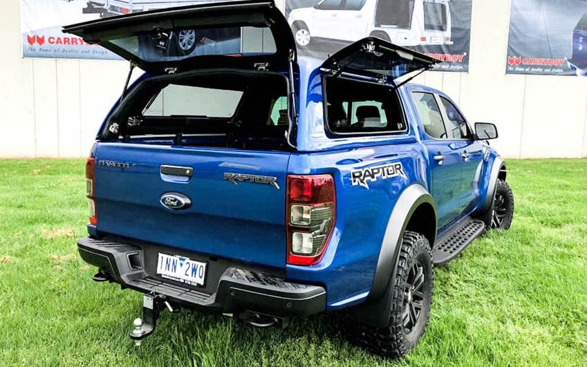Ford Ranger Raptor Hardtop mit Glasklappen SON