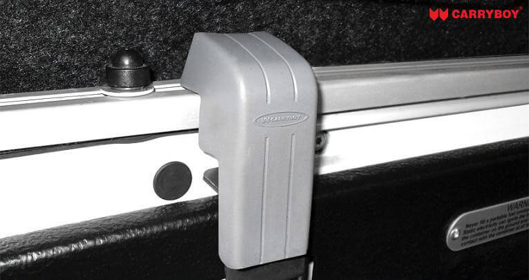 CARRYBOY Hardtop mit Schiebefenster für Ford Ranger Einzelkabine Singlecab Klemmmontage