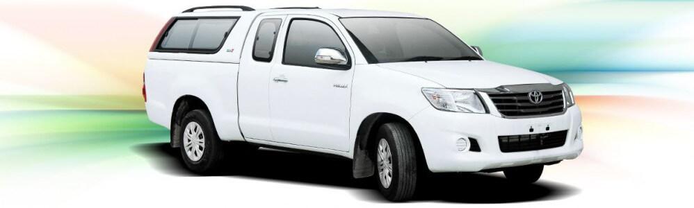 CARRYBOY Hardtop 560-TVC Toyota Hilux Vigo 2005-2015 Extrakabine