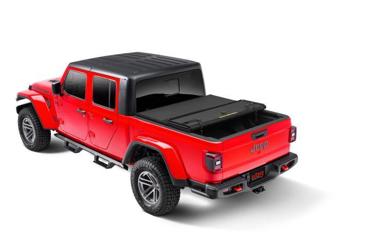 NOVISauto Laderaumabdeckung Trifold Jeep Gladiator 2020+ einfache Bedienung schnelle Montage