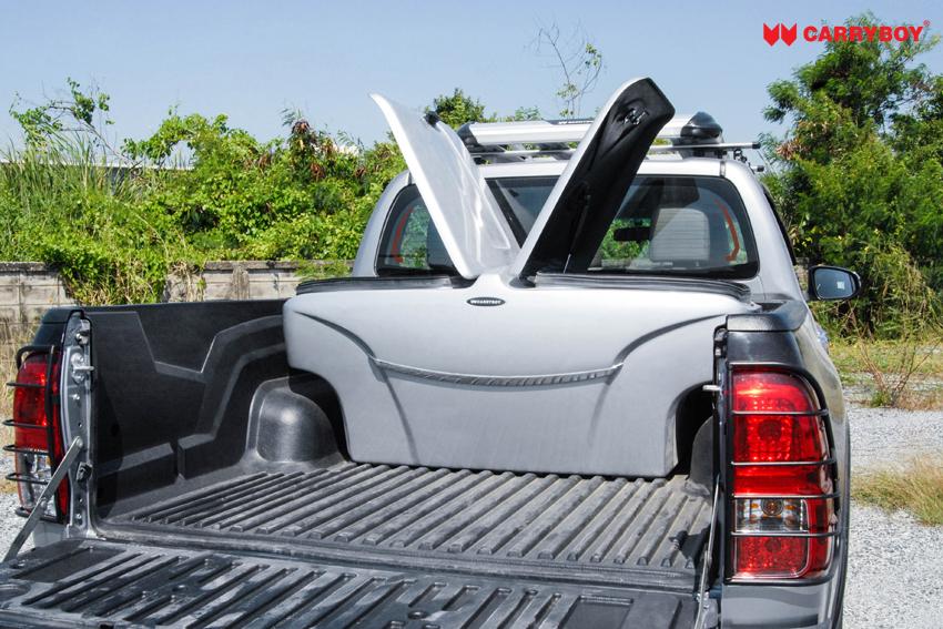 CARRYBOY Staubox für Pickup Ladefläche XXL Jumbobox Seitenöffnungen große Klappen