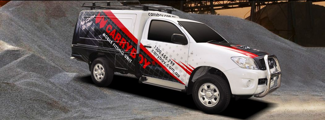 CARRYBOY Fahrgestellaufbau Kofferaufbau für Ford Ranger Singlecab sicher abschließbar