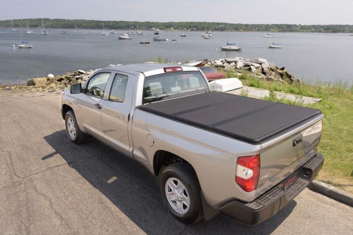 NOVISauto Laderaumabdeckung Trifold zum Falten Überkante Toyota Tundra vielfältig bequem funktional