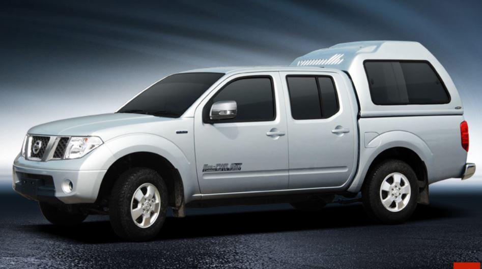 CARRYBOY Hardtop mit Überhöhe Nissan Navara D40 Kurzbett Doppelkabine gesicherte Ersatzteilversorgung