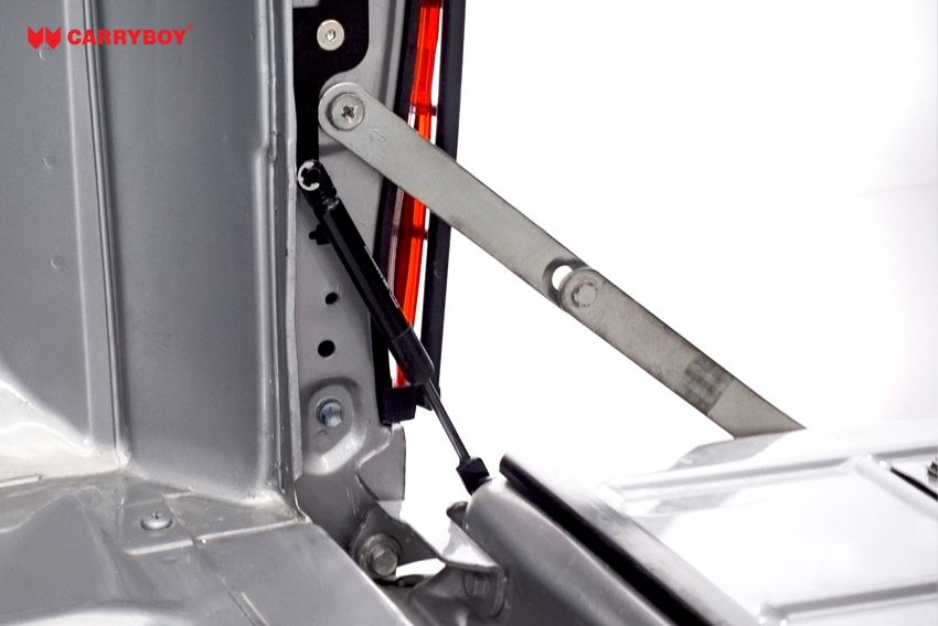 CARRYBOY Heckklappendämpfer CB-111-TR Toyota Hilux 2016+ Heckklappenfeder beim Öffnen