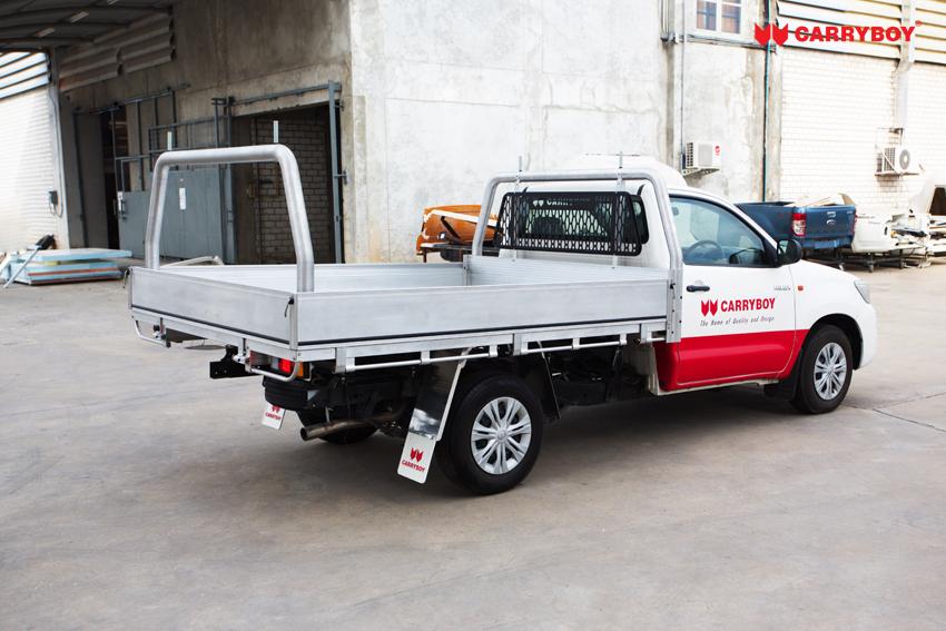 CARRYBOY Aluminium ultraleicht Ladefläche für Pickups Singlecab Umbau