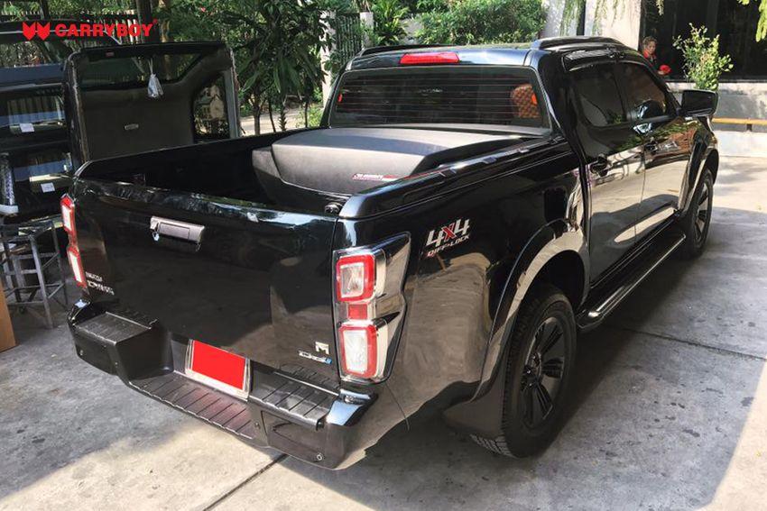 CARRYBOY Staubox Transportbox XXL Jumbo 735 Pickup Ladefläche einfacher Einbau