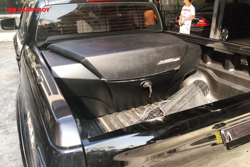 CARRYBOY Staubox Transportbox XXL Jumbo 735 Pickup Ladefläche mattschwarz