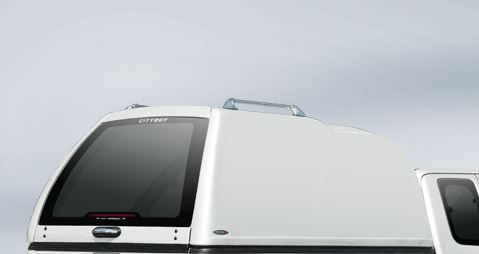 CARRYBOY Hardtop 840oS-NFD Nissan Navara D40 Doppelkabine geschlossene Seiten GFK Hardtop extrem stabil