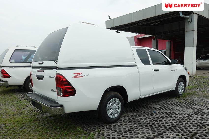 CARRYBOY Hardtop ohne Seitenfenster Überhöhe Ford Ranger