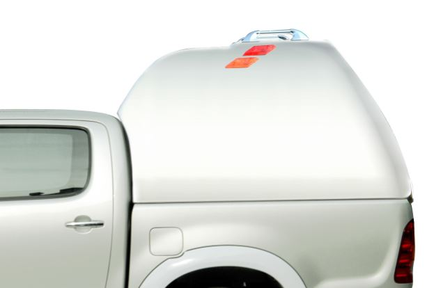 CARRYBOY Hardtop Überhöhe 840-FD Ford Ranger Doppelkabine 2002-2011 geschlossene Seiten