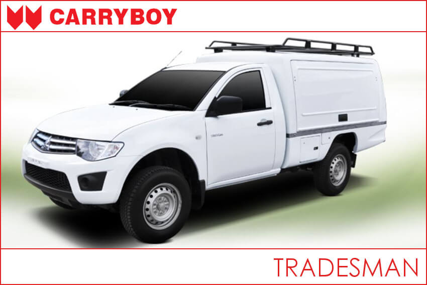 Carryboy CSV Tradesman lackiert in universal weiß