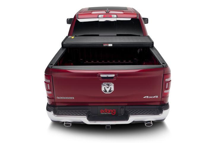 NOVISauto Laderaumabdeckung Flachabdeckung zum Falten Trifold Dodge RAM1500 2019+ offen fahrbar Ladefläche voll nutzbar