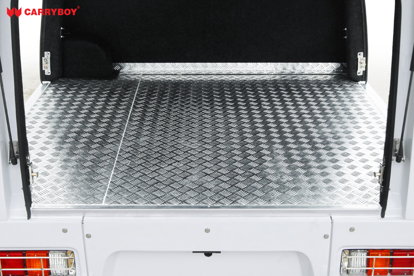 CARRYBOY Fahrgestellaufbau Kofferaufbau für Ford Ranger Singlecab tiefer Ladeboden