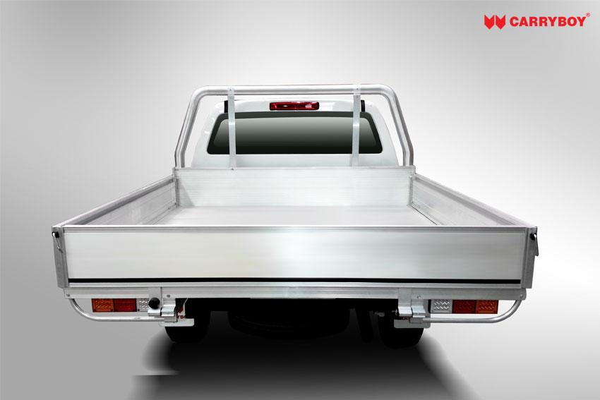 Carryboy Fahrgestellaufbau Ladeflächenumbau Aluminium mit Kabinenschutz Einzelkabine