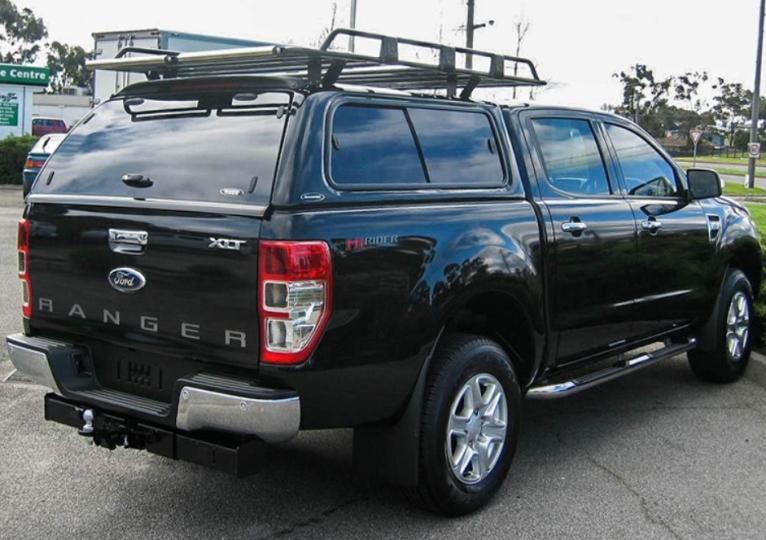 Ford Ranger Doppelkabine CARRYBOY Hardtop 560-FTD, Seitenschiebefenster, Dachlastträger