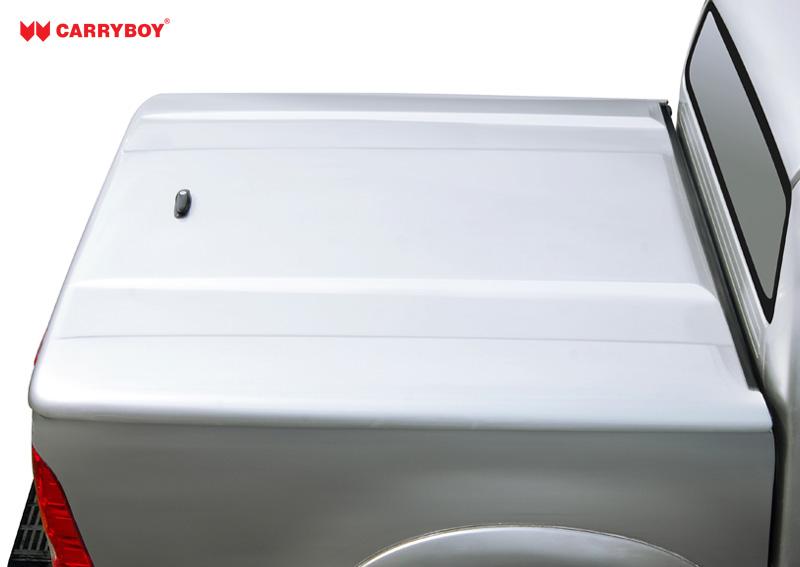 CARRYBOY Laderaumabdeckung  Deckel SX aus stabilem GFK Fiat Fullback Doppelkabine sicher abschließbar