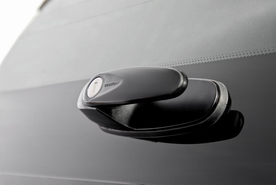 CARRYBOY Hardtop 560 mit seitlichen Schiebefenstern für Mercedes X-Klasse X250 X350 Anbindung an Zentralverriegelung