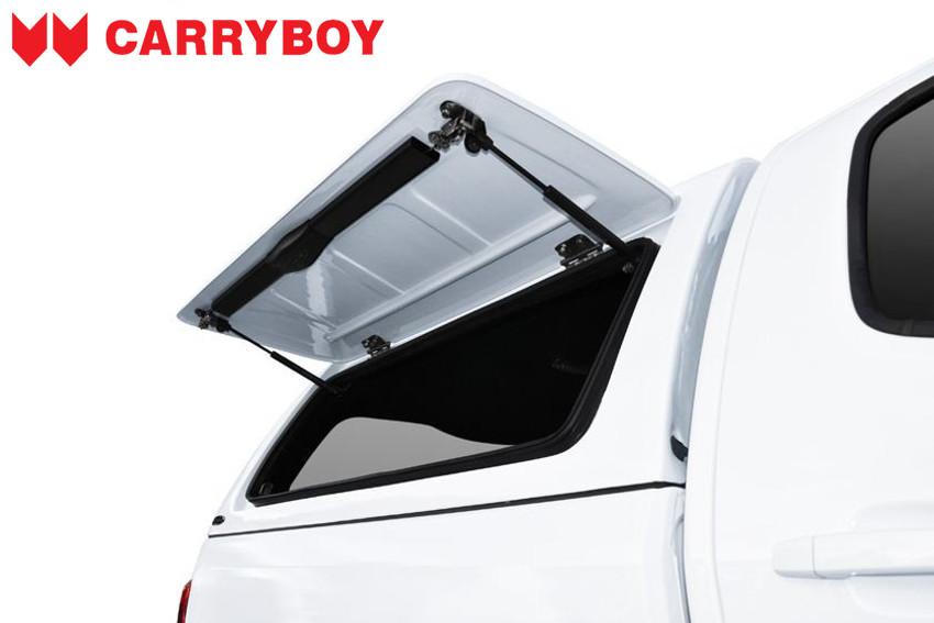 CARRYBOY Hardtop mit festen Seitenklappen SOK-MNDF Fiat Fullback Doppelkabine Ersatzteile sicher