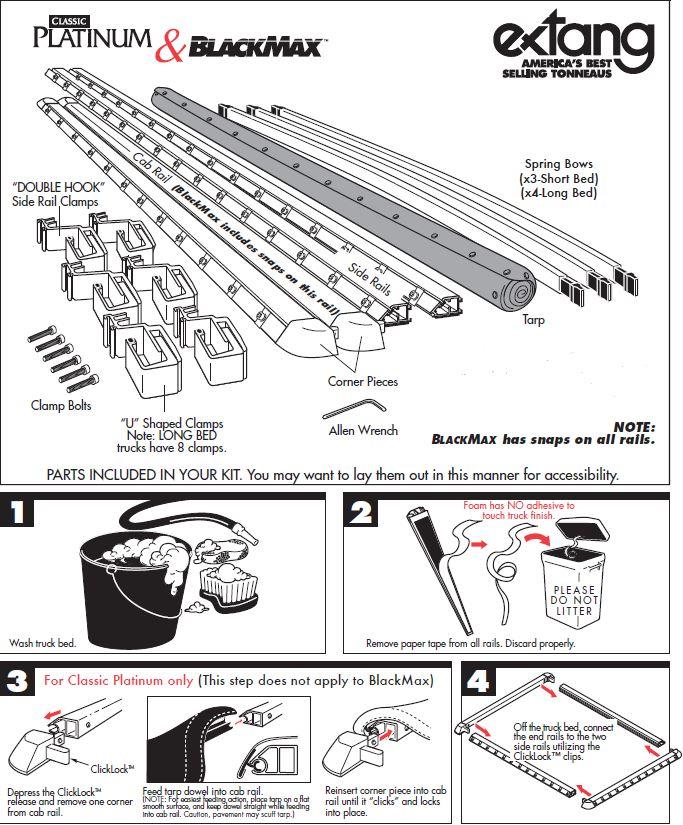 NOVISauto Laderaumabdeckung Plane zum Rollen BLACKMAX - THD16