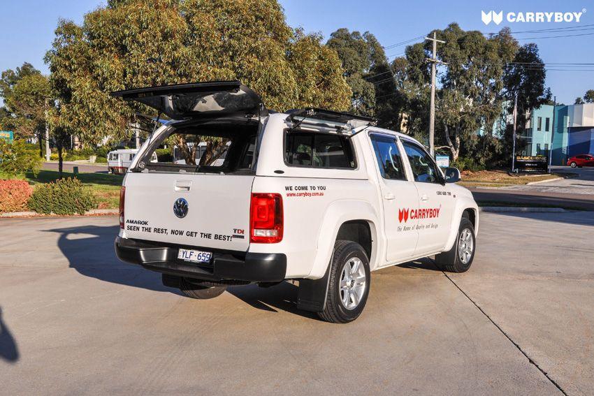 CARRYBOY VW Amarok Doppelkabine Zubehör Hardtop Installation ohne Bohren