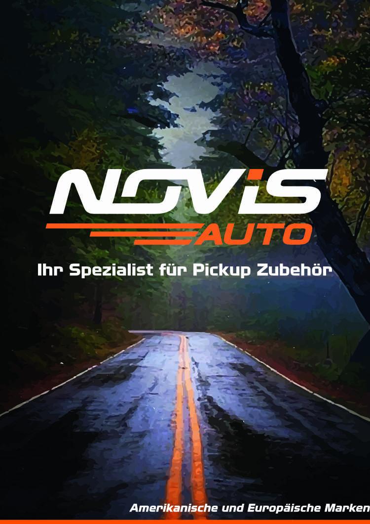 NOVISauto Pickup Laderaumabdeckung kompletter Katalog