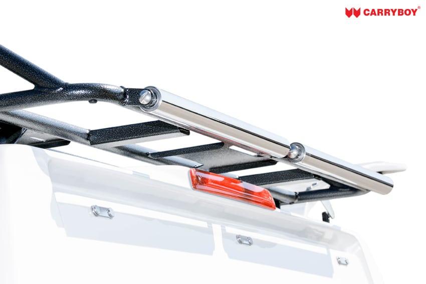 CARRYBOY Dachlastträger für Hardtop oder Kofferaufbau Dachträger mit Ablaufrollen Einzelkabine