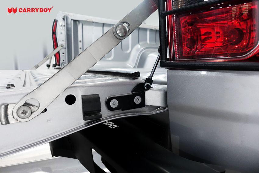 CARRYBOY Heckklappendämpfer CB-111-TR Toyota Hilux 2016+ einfacher Einbau