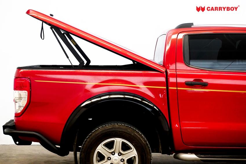 CARRYBOY e-Laderaumabdeckung mit Motorhub - SMX2-TRD