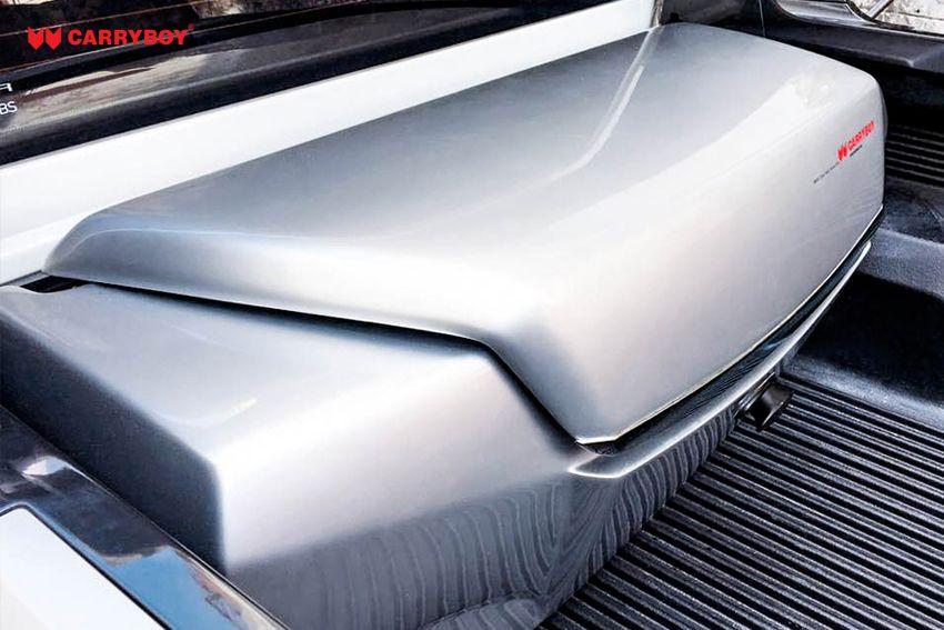 CARRYBOY Transportbox Staubox für Pickup Ladefläche Standardmaß CB-704 Frontöffnung einfacher Einbau
