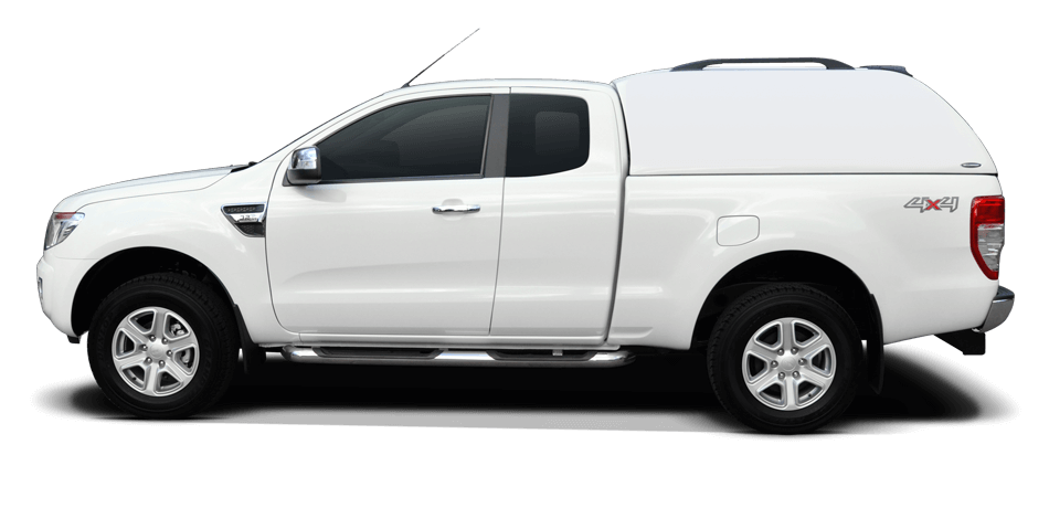 Carryboy Hardtop 560oS-TRC Toyota Hilux Revo Extrakabine 2016+ Hardtop geschlossene Seiten keine Fenster