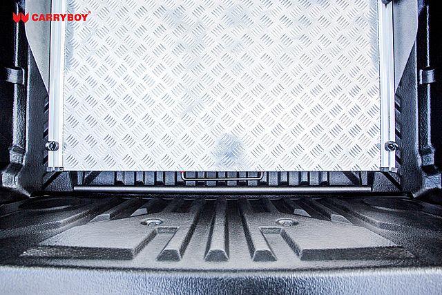 CARRYBOY Ladebodenauszug ausziehbare Ladefläche 350kg Belastung Aluminium passgenau