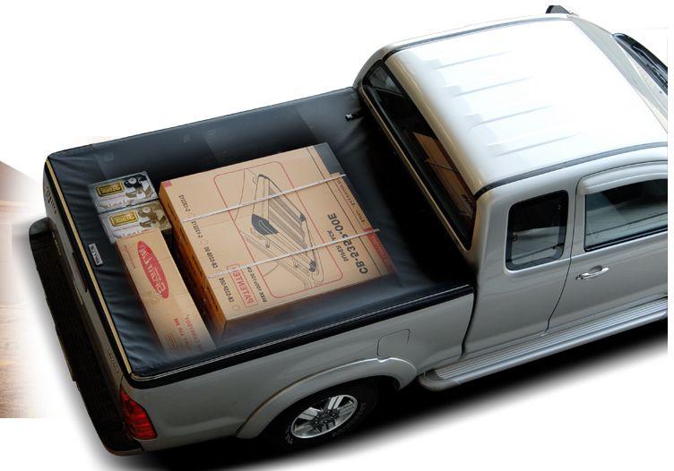 CARRYBOY Pickup Laderaumabdeckung Vinyplane Klettverschluss Sichtschutz