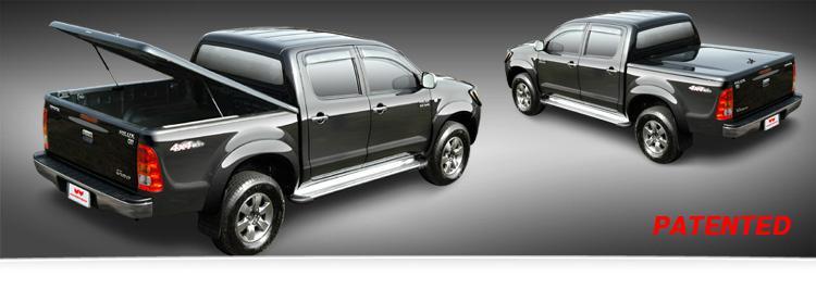 Ford Ranger Doppelkabine Laderaumabdeckung Deckel SX-FTD Lackierung in Wagenfarbe