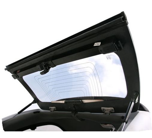 Carryboy Hardtop 560 Heckklappe Nissan Navara D40 Kingcab
