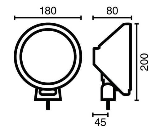 NOVISauto LED Fernscheinwerfer Modell 105 613
