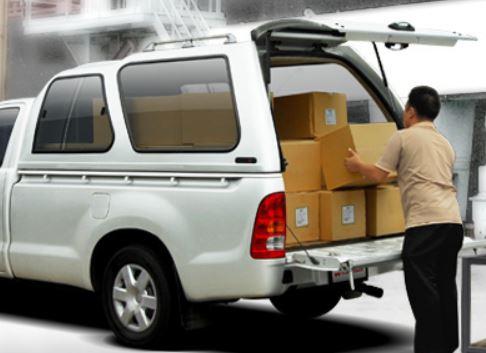 CARRYBOY Hardtop 840 mit Schiebefenster Hardtop mit Überhöhe maximale Beladung Toyota Hilux Vigo Singlecab