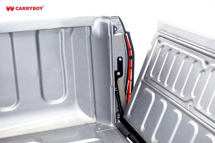 CARRYBOY Heckklappendämpfer CB-111-TR Toyota Hilux 2016+ verhindert runterfallen der Heckklappe