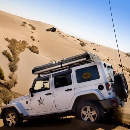 NOVISauto CARRYBOY Dachzelt Pathfinder II mit Hartschale und Motorhub aerodynamisch
