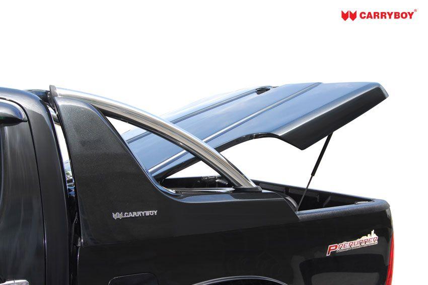 CARRYBOY Pickup Laderaumabdeckung Deckel mit Edelstahlbügel GRX Gasfedern