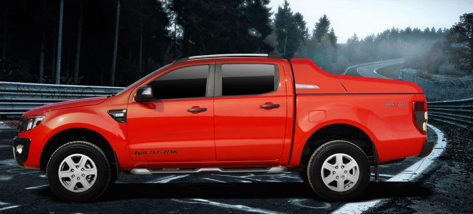 CARRYBOY Laderaumabdeckung Deckel Fullbox Ford Ranger Doppelkabine 2012+