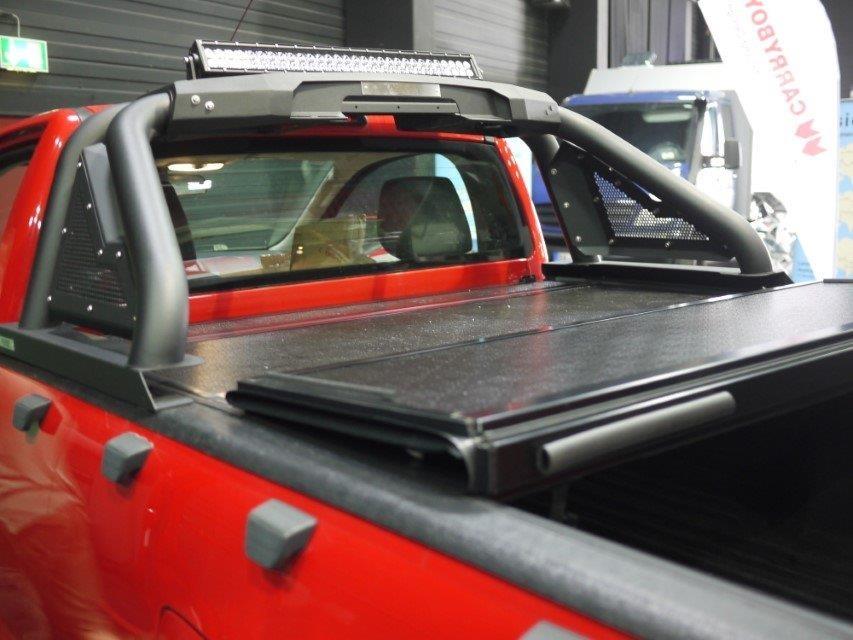 "NOVISauto Überrollbügel ""Sportbügel 2.0"" Black Edition - ohne Motoreinheit - Hilux, NP300, Ranger"
