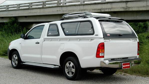 Carryboy Hardtop Modell 560-FL für Ford Ranger Einzelkabine 02-11 elegantes Design Lackierung in Wagenfarbe