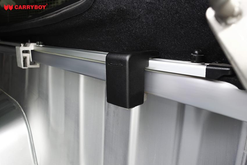 Klemmverschluss beziehungsweise Quick-Klamp für Carryboy Hardtops