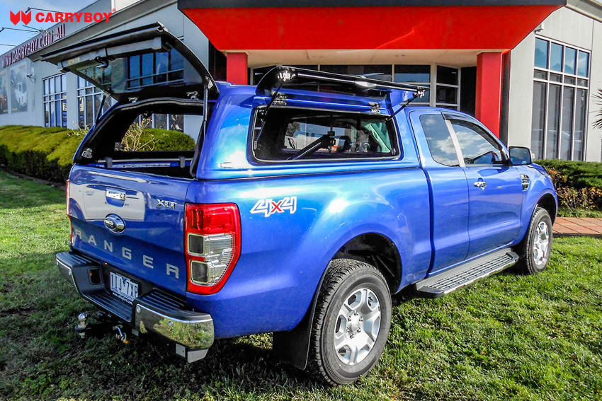 Ford Ranger Extrakabine SON Hardtop mit Klappfenster offen