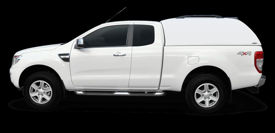 CARRYBOY Hardtop 560oS-MNC ohne Seitenfenster geschlossene Seiten Mitsubishi L200 Clubcab Extrakabine