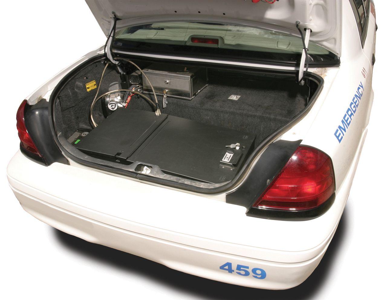 NOVISauto Kofferraum Sicherheitsbox Gewehrbox und Waffentresor Fahrzeuge Kofferraumeinbau 253