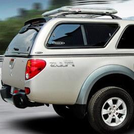 CARRYBOY Hardtop mit Schiebefenster 560-MTCP Mitsubishi L200 Clubcab Extrakabine 2009-2015