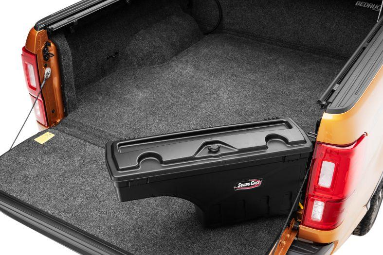 NOVISauto CARRYBOY Werkzeugbox Staubox Toolbox schwenkbar Pickup Ladefläche F150 2014+ und 2021+
